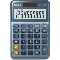 CASIO Calculatrice de bureau 10 chiffres CSCALMS-100EM