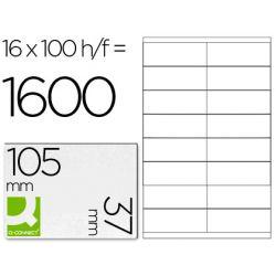 BTE 1600 ETIQ BLANCHES MULTI 105X37