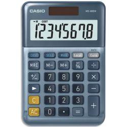 CASIO Calculatrice de bureau 8 chiffres CSCALMS-88EM