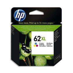 HP Pack Jet d'encre 3 couleur 62XL C2P07AE
