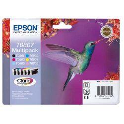 EPSON Multipack 6 couleurs C13T08074010