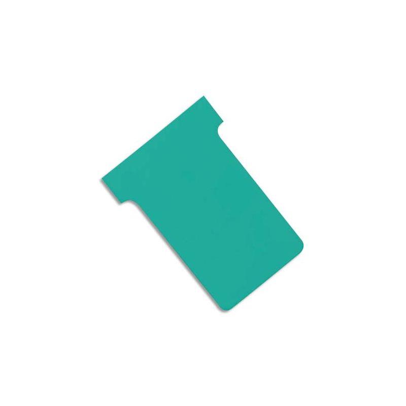 VALREX Etui de 100 fiches T NOBO en carton 170 g/m2 indice 2 Vert