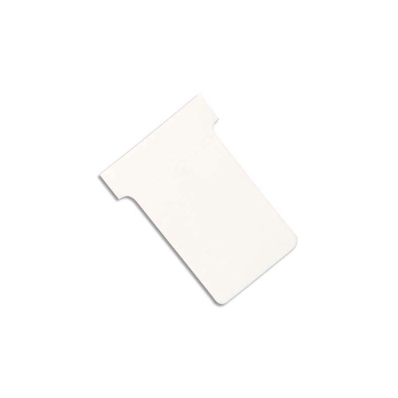 VALREX Etui de 100 fiches T NOBO en carton 170 g/m2 indice 2 Blanc