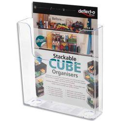 DEFLECTO Porte brochures A5 muraux