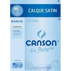 CANSON Calque satin pochette de 10 feuilles