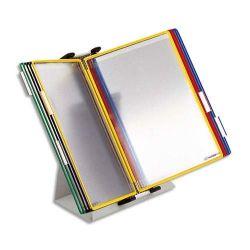 TARIFOLD Kit pupitre 20 poches format A4.
