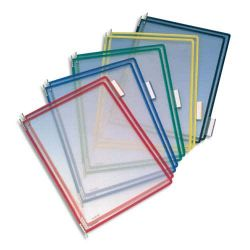 TARIFOLD Paquet de 10 poches pour pupitre A4 PVC