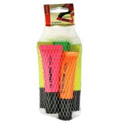 STABILO Pack de 5 surligneurs BOSS NEON