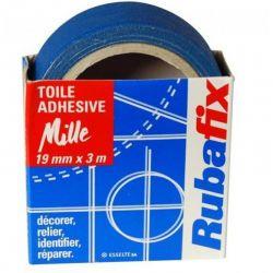 RUBAFIX Toile adhésive MILLE Bleu