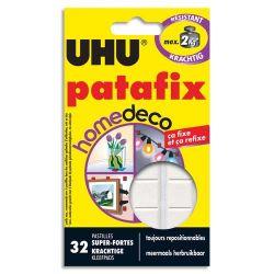 UHU PATAFIX Etui de 32 pastilles Blanche