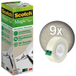 SCOTCH Boîte de 9 rubans Scotch Magic