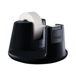 TESA Dévidoir Compact Noir avec un ruban d'adhésif invisible 19mm x 33m