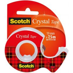 SCOTCH Ruban Crystal transparent 19mm x 7,5m