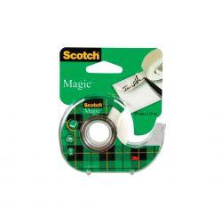 SCOTCH Ruban adhésif Magic invisible 19mm x 15m sur dévidoir