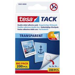 TESA 200 pastilles adhésives Tack double-face