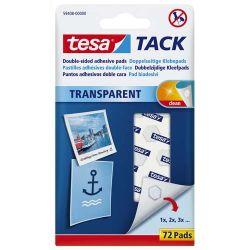 TESA 72 pastilles adhésives Tack double-face