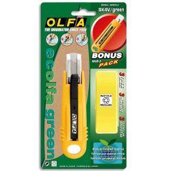 OLFA Cutter de sécurité SK4 lame 17.5mm rétractable ambidextre