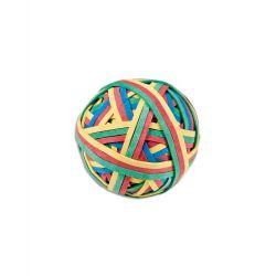 WONDAY Balle 200 élastiques 4 couleurs assorties