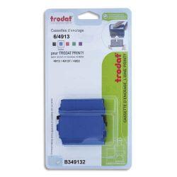 TRODAT Blister 3 recharges 6/4913 pour appareils 4913/4913T/4953 Bleu