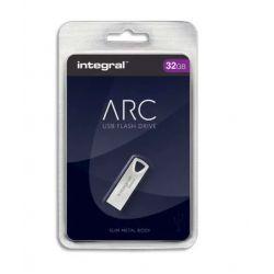 INTEGRAL Clé USB 2.0 Métal ARC 32Go