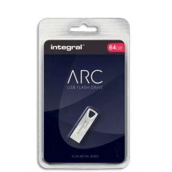 INTEGRAL Clé USB 2.0 Métal ARC 64Go