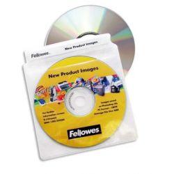 FELLOWES P/100 enveloppes plastique cd/dvd