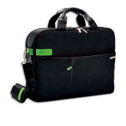 LEITZ Sac Inch Laptop Bag pour ordinateur 15,6, 2 compartiments + pochettes