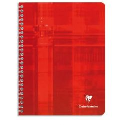 CLAIREFONTAINE Cahier reliure spirale 21x29,7 cm 100 pages