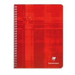 CLAIREFONTAINE Cahier reliure spirale 17x22 cm 100 pages