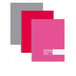 Cahier spirale 21x29,7cm 100 pages 60g